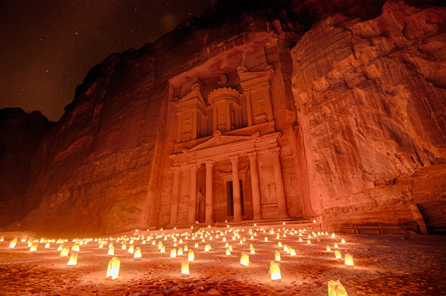 Petra by Night-Treasury