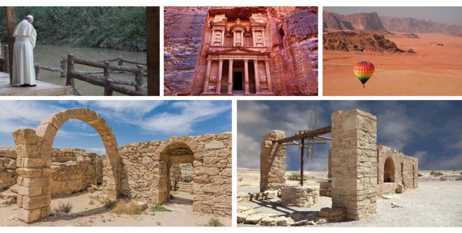 Bethany Beyond the Jordan, Petra, Wadi Rum, Umm ar-Rasas, Quseir Amra