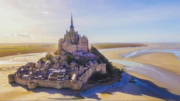 Reflux Mont Saint-Michel