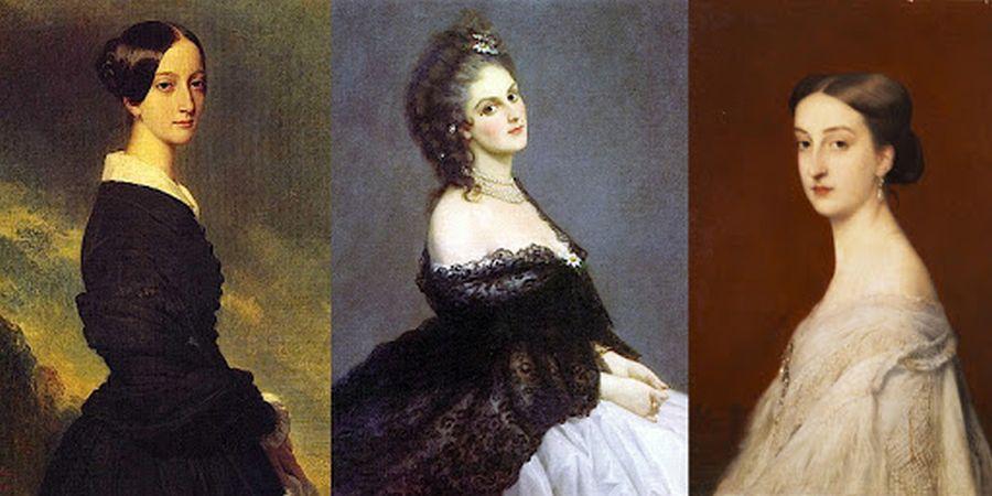 machiaj secolul 19