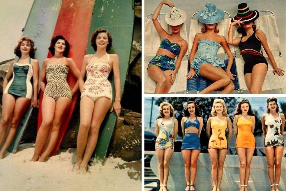 Costumul de baie în anii 60