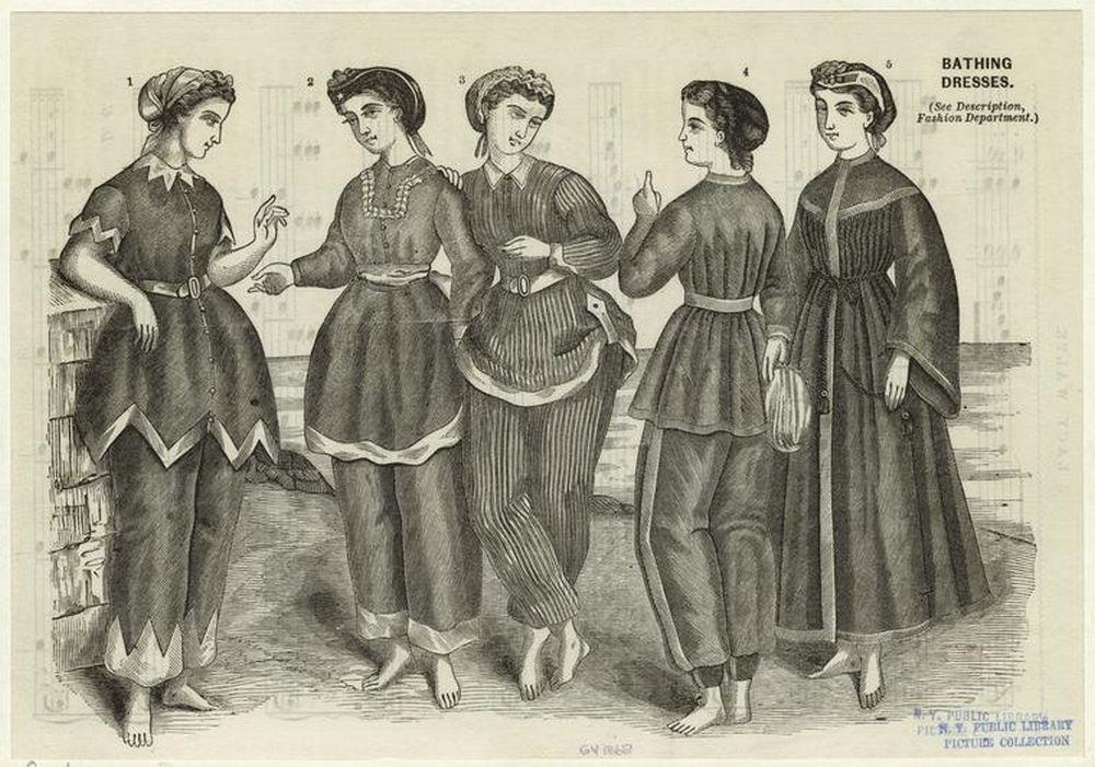 costume baie vintage