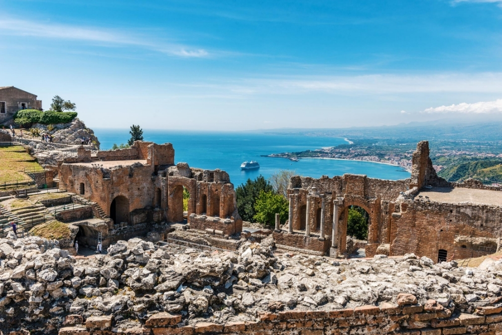 taormina teatrul grecesc