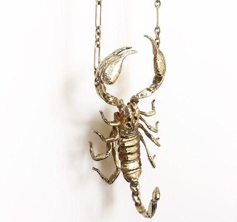 Lănțișor cu scorpion Tom Ford