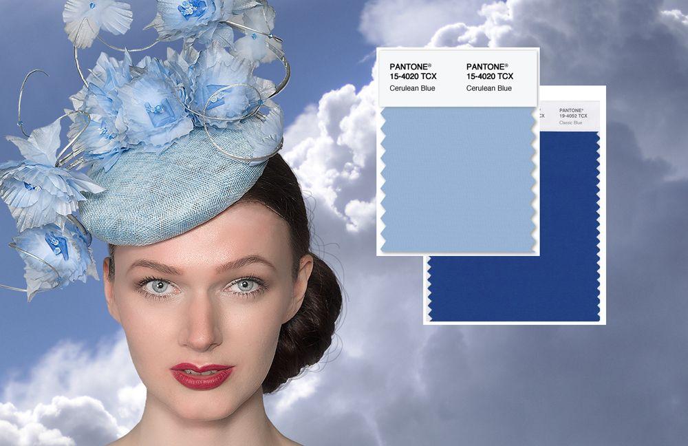 Cerulean, Pantone 15-4020 fashion