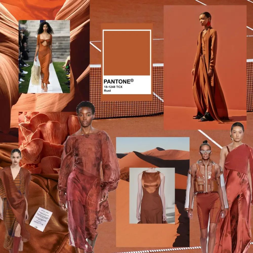 Rust, Pantone 18-1248 fashion