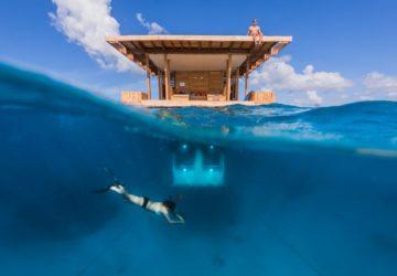 manta underwater room