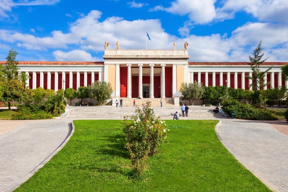 muzeul arheologie atena