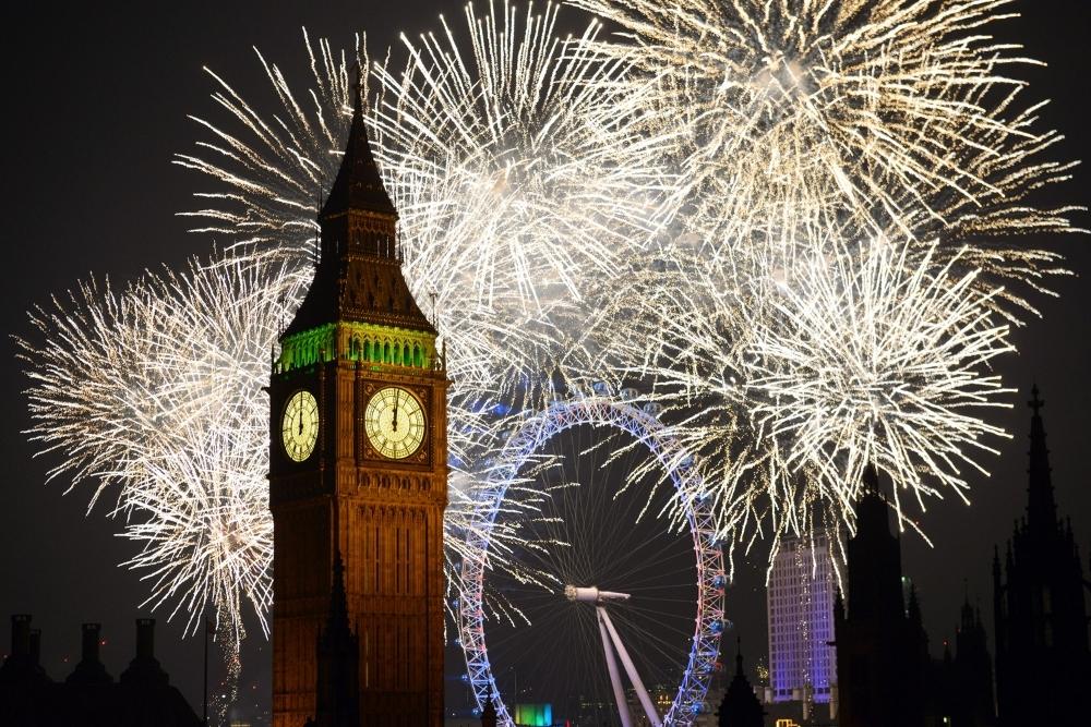 londra artificii