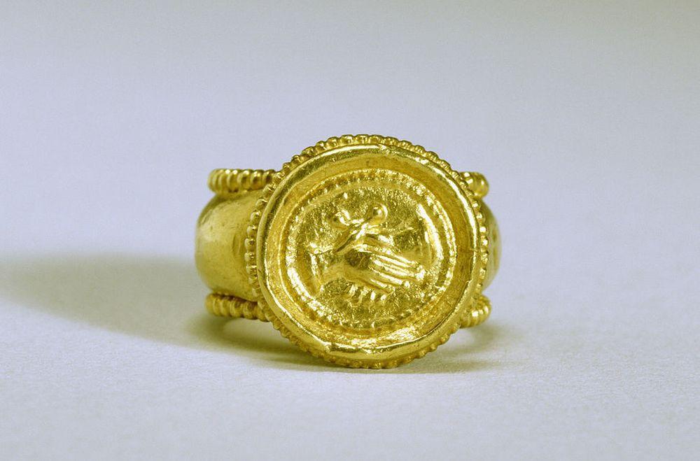 Inel de logodnă bizantin