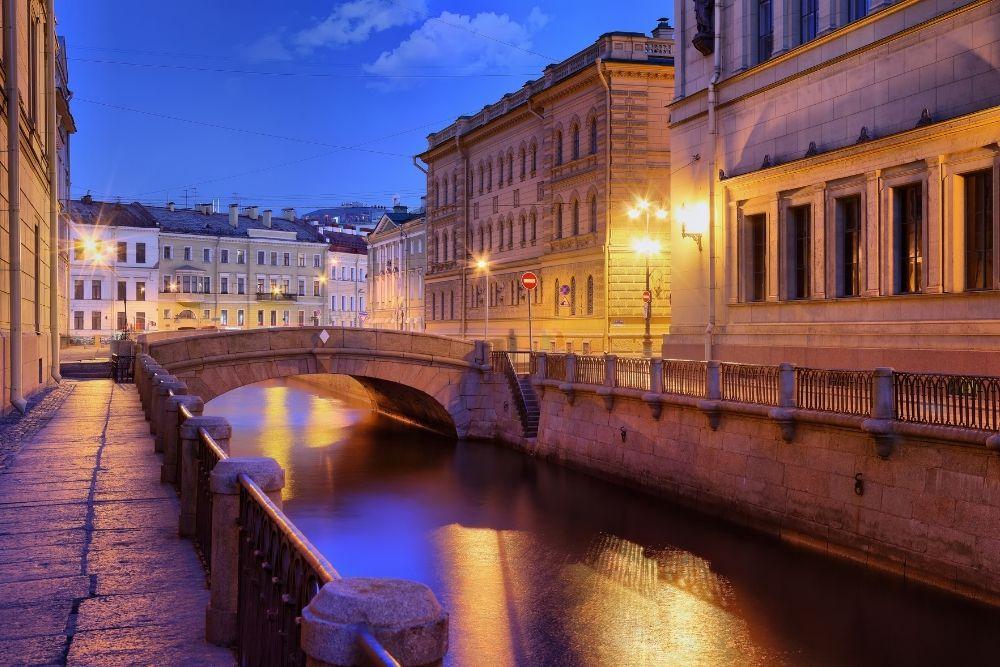 Winter St Petersburg