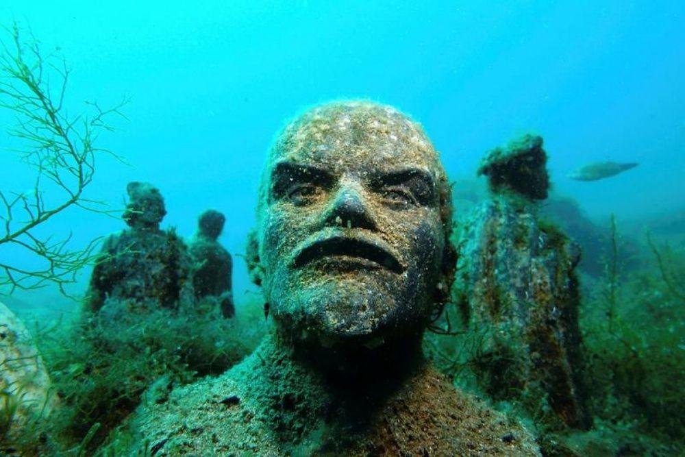 Cape Tarkhankut's Underwater Museum