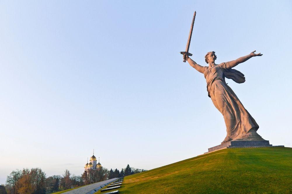 Motherland Calls, Volgograd