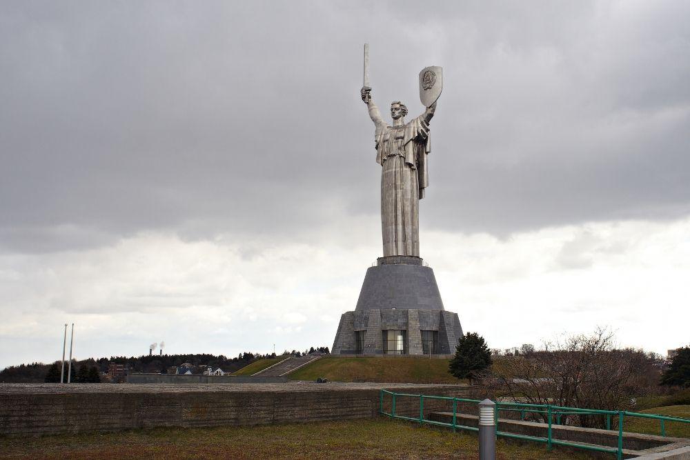 The Motherland Monument, Kiev