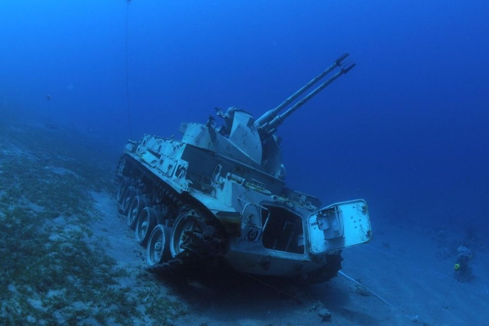 Underwater military museum, Aqaba