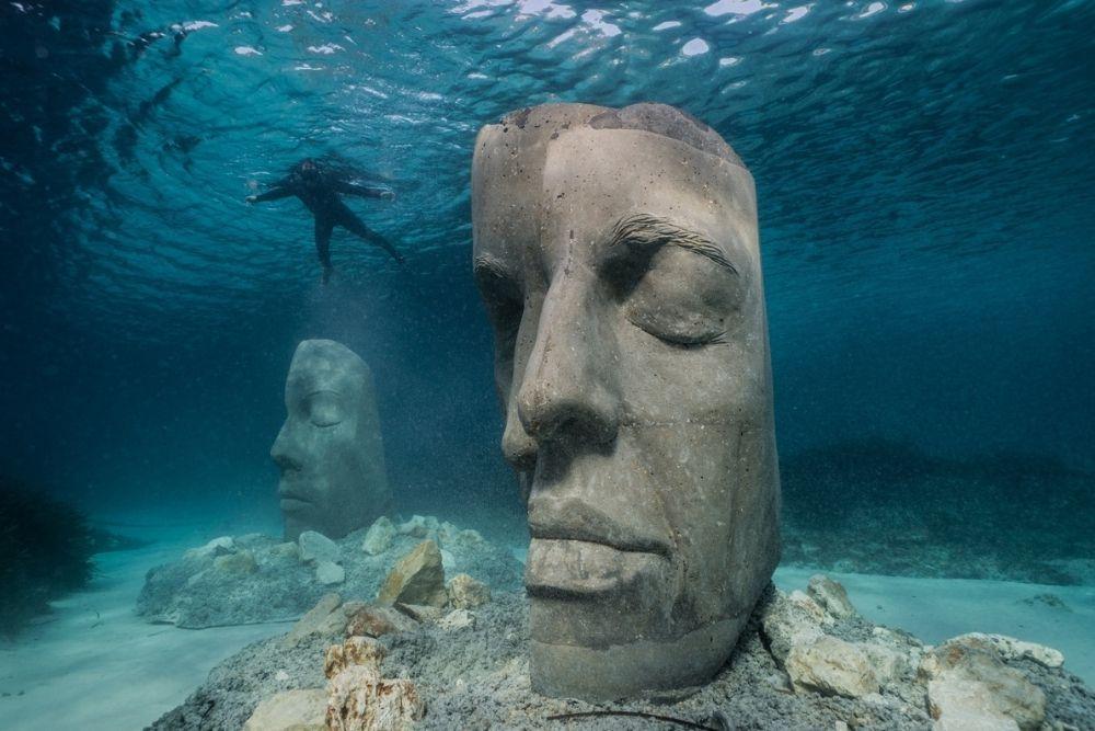 Underwater museum, Cannes