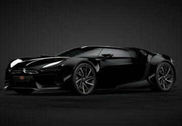 Bugatti La Voiture Noire feat