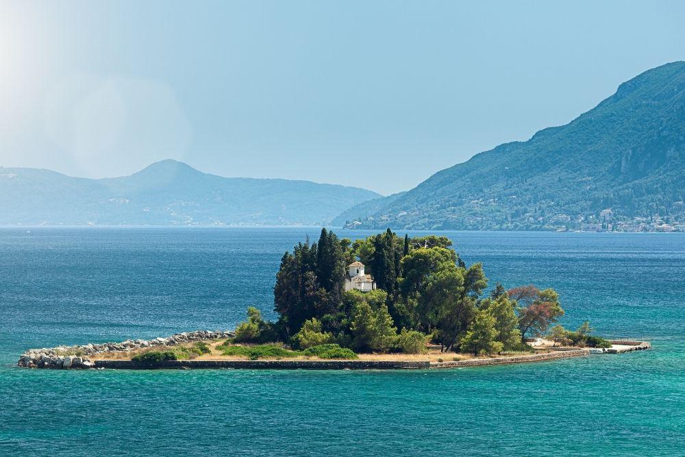 Pontikonisi island