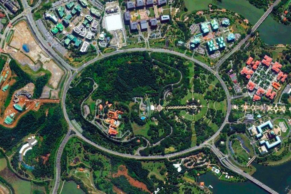 Putrajaya roundabout