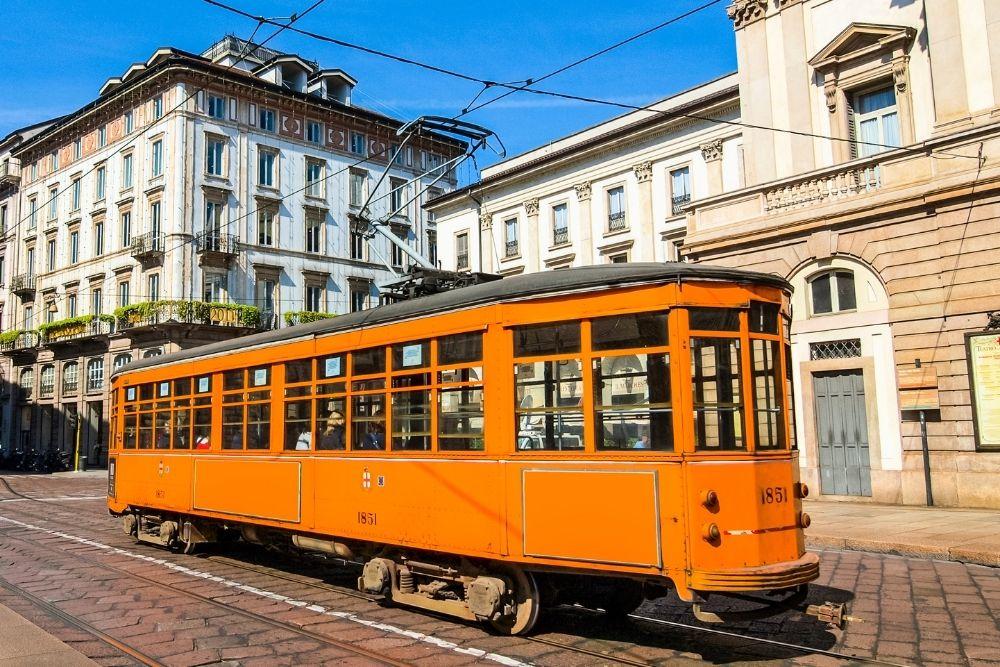 tramvai milano